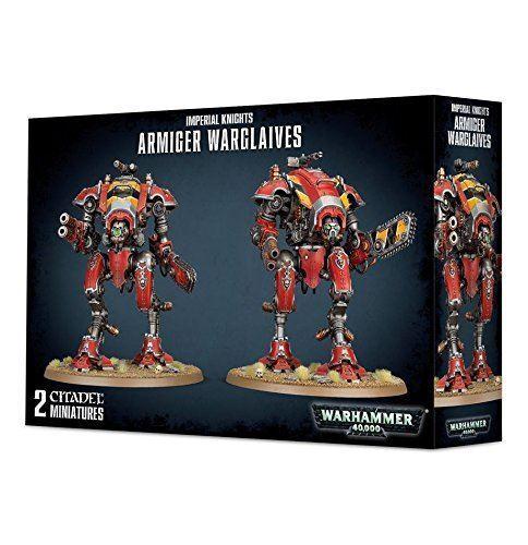 Warhammer 40.000 kaiserlichen ritter armiger games workshop warglaives miniatur