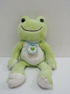 "Pickles The Frog Green Nakajima Beanie 10"" Plush Stuffed ..."