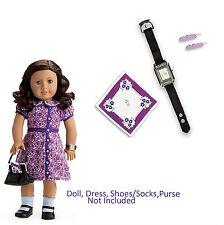 Authentic American Girl Doll Everyday Accessories Handkerchief Watch Barrett