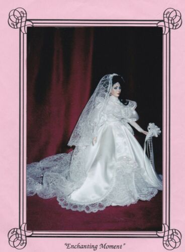 ENCHANTING MOMENT WEDDING GOWN PATTERN FOR BARBIE DOLL