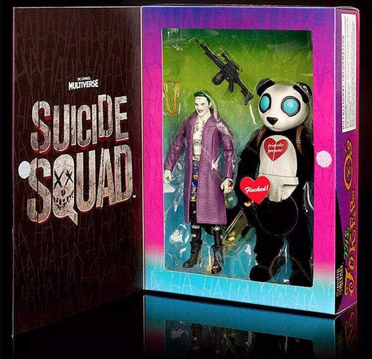 Sdcc 2016 suicide squad film joker & pandamann festgelegten zahl dc mattel mib