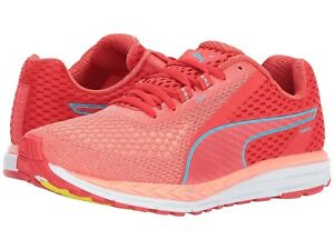 New Puma Speed 500 Ignite 2 Poppy Red Women s Running Shoes US 8 EUR ... 772075911