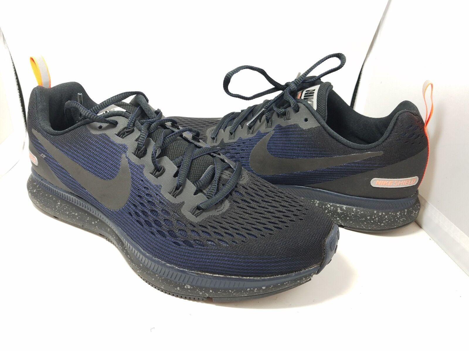 b02507f274e9 ... sz 8.5 Nike Air Zoom Pegasus 34 Black Obsidian Shield Running Shoes  Black Obsidian 34 f99982 ...