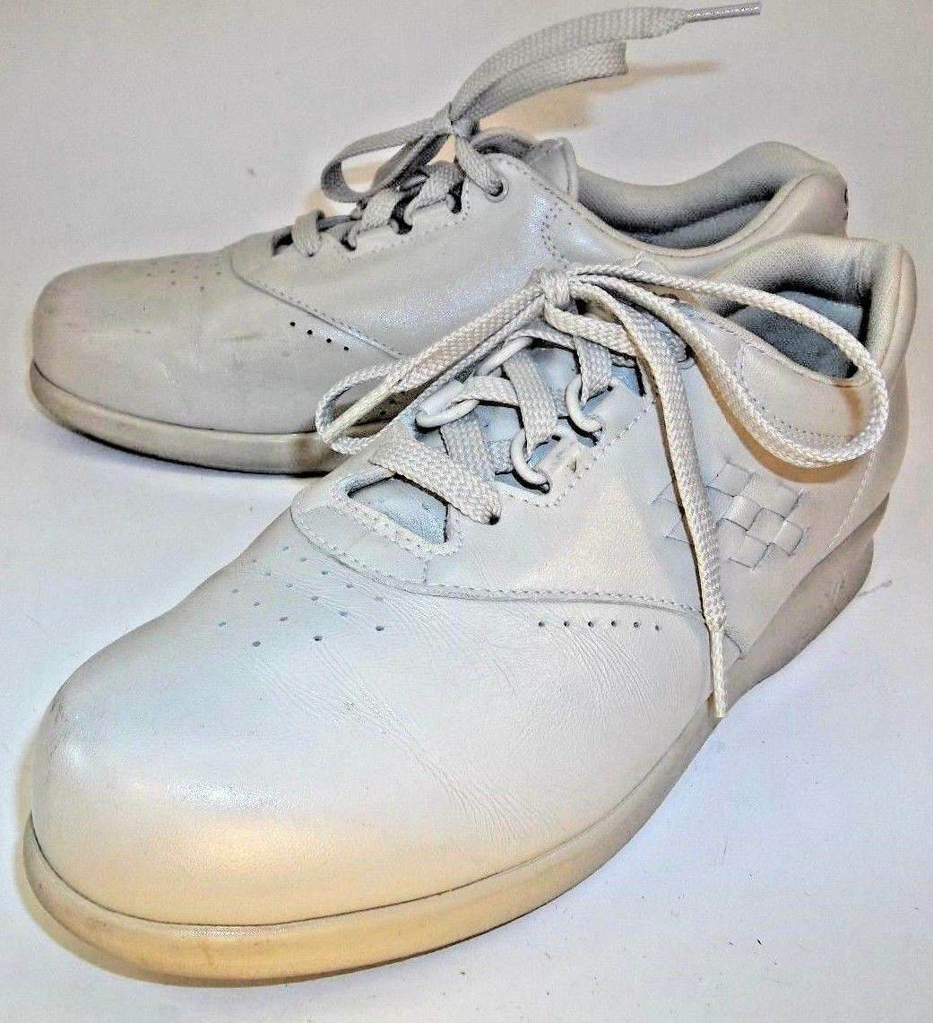 SAS Wos chaussures Tripad Comfort US 7.5 S Beige Lace Oxfords Ortho Walking 884