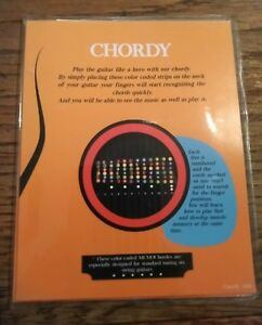 Details about New Chordy Color coded guitar fret stickers  Guitar chord  stickers for beginners