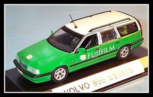 wonderful-unique-modelcar-VOLVO-850-WAGON-034-FUJIFILM-034-1996-green-white-1-43