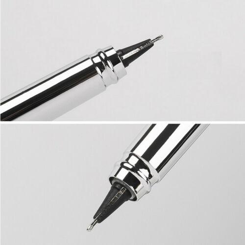 Hero 70 360 Degree Writing Black Metal Fountain Pen F//0.5mm Nib Students Gift #s