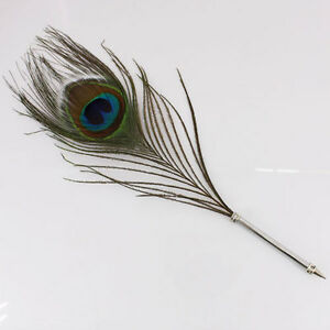Beautiful quill ball pen with peacock feather a107 ebay - Beautiful peacock feather ...
