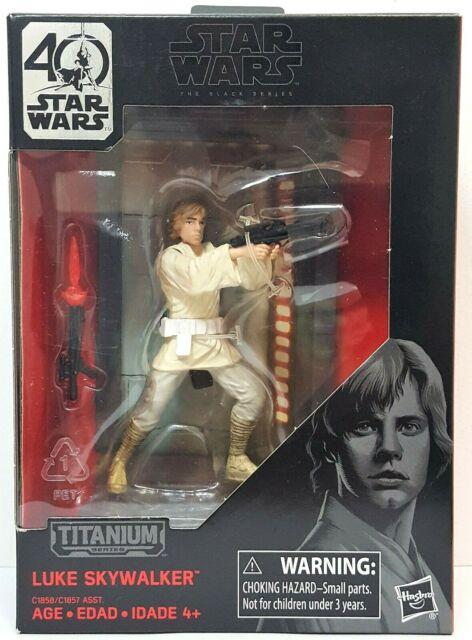 40th Anniversary Luke Skywalker #03 Star Wars Black Titanium Series