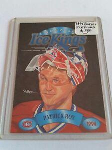 1993-94-Donruss-Ice-Kings-1-Patrick-Roy-Montreal-Canadiens
