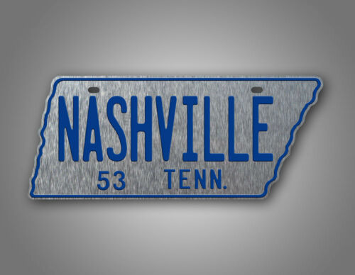 1953 Antique Tennessee License Plate Vintage REPLICA TN Auto Tag CUSTOMIZED TEXT
