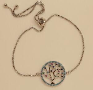 20ct Diamond Tennis Bracelet  in 18k White Gold Perfect Finish #1-09
