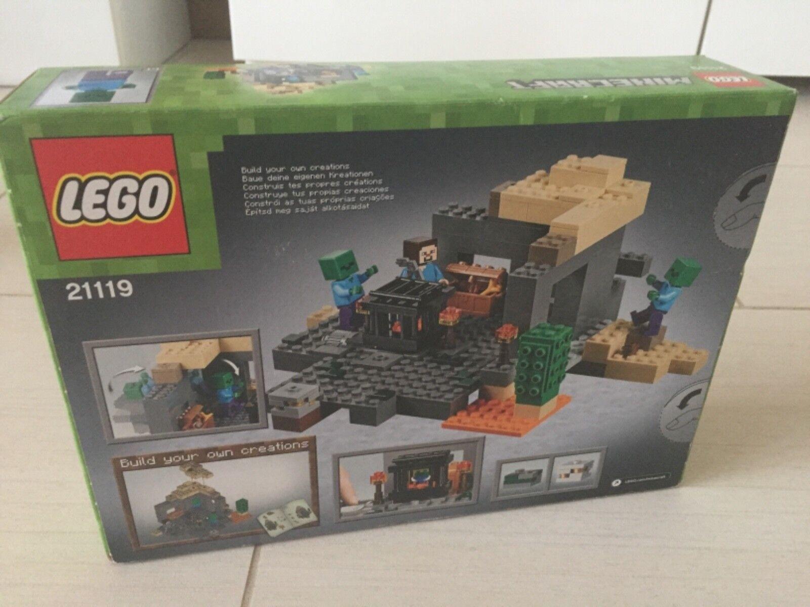 LEGO Minecraft il Dungeon (21119) Sigillato Nuovo di zecca.