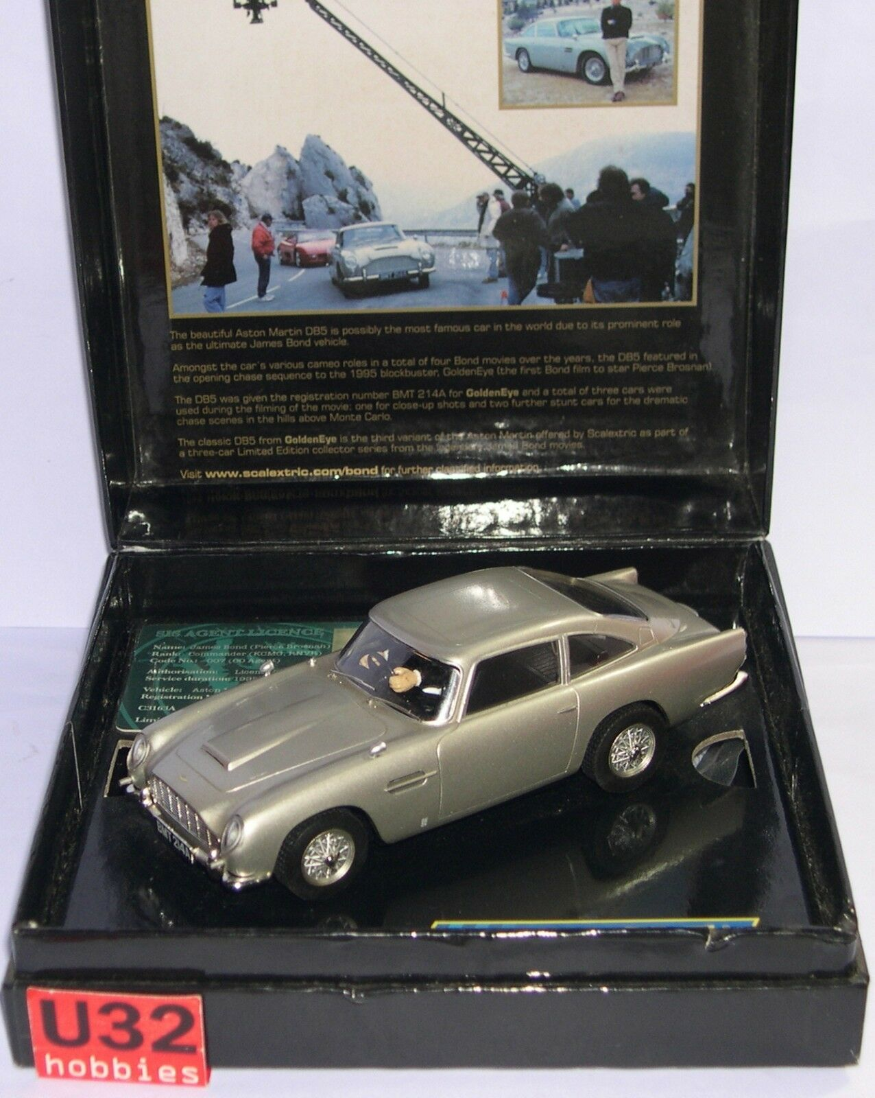 Bestellung H3163a Aston Martin Db5 James Bond Goldeneye 007 Scalextric UK MB