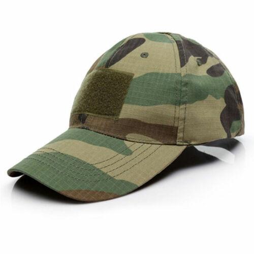 HOMMES TACTIQUE OPÉRATEUR Camo Casquette Militaire Armée Airsoft Chapeau Accessoire