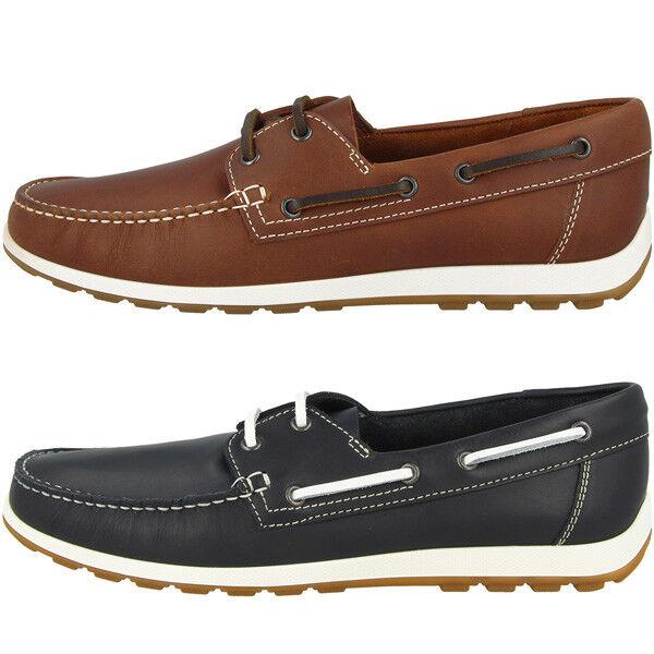 Ecco Reciprico Schuhe Men Herren Bootsschuhe Halbschuhe Mokassin Loafer 660414