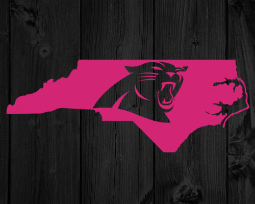 2 Carolina Panthers DecalsNorth Carolina State SilhouetteFootball Fans