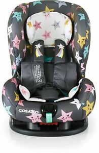 Cosatto MOOVA 2 GROUP 1 ANTI-ESCAPE CAR SEAT - HAPPY HUSH STARS Babytravel BN