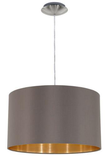 "Deckenlampe Eglo /""Maserlo/"" cappuccino Ø ca Deckenleuchte 38 cm  383774 Lampe"