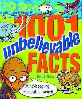 1 of 1 - 1001 Unbelievable Facts,Helen Otway,Excellent Book mon0000066415