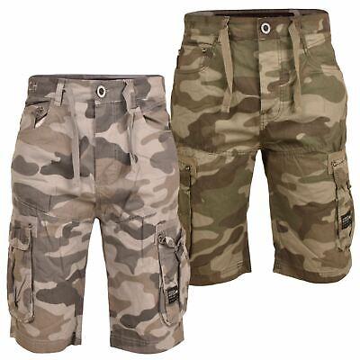 Utile Nuovi Uomini Crosshatch Cotone Estate Pantaloni Bermuda Pantaloncini Esercito Tasca Tg 30-42-mostra Il Titolo Originale