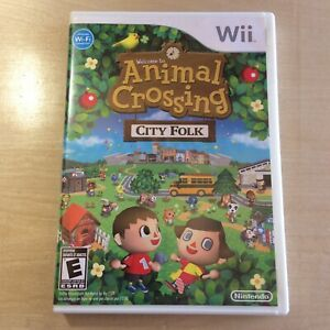 Animal Crossing: City Folk (Nintendo Wii Game, 2008) Ships ...