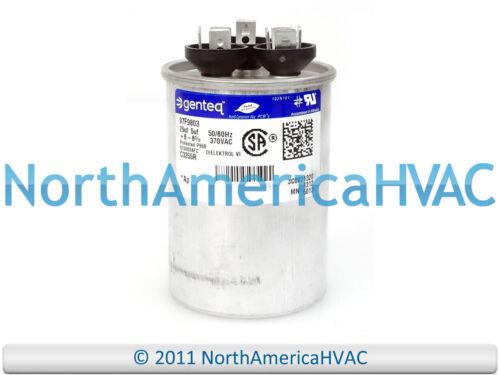 Carrier Bryant Capacitor 25//5 uf 370 volt HC98CA026
