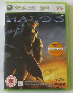 XBOX-360-Gioco-Halo-3-BUNGIE-PAL-disc-MANUALE-spedizione-in-tutto-il-mondo