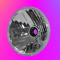 Scheinwerfereinsatz H4 7 Zoll Klarglas Prismenreflektor Einsatz Scheinwerfer E