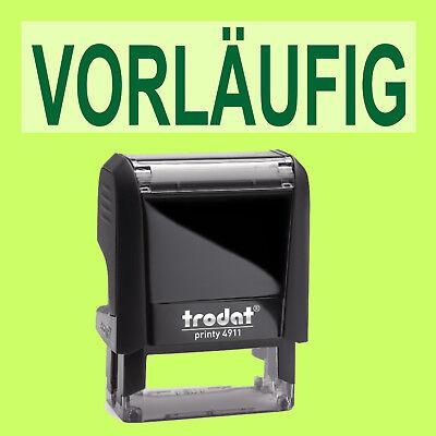 Stempel VorlÄufig Trodat Printy Schwarz 4911 Büro Stempel Kissen Grün StäRkung Von Sehnen Und Knochen Papier, Büro- & Schreibwaren