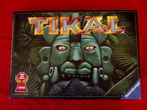 TIKAL-Spiel-des-Jahres-1999-von-Ravensburger-fuer-2-4-Spieler-ab-10-Jahren
