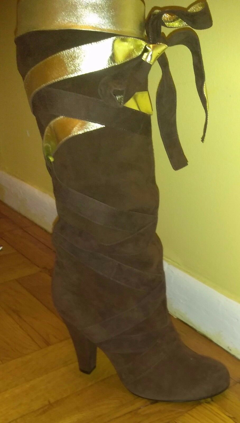 NIB Marc Jacobs, Suede Knee High Boots, Size 41