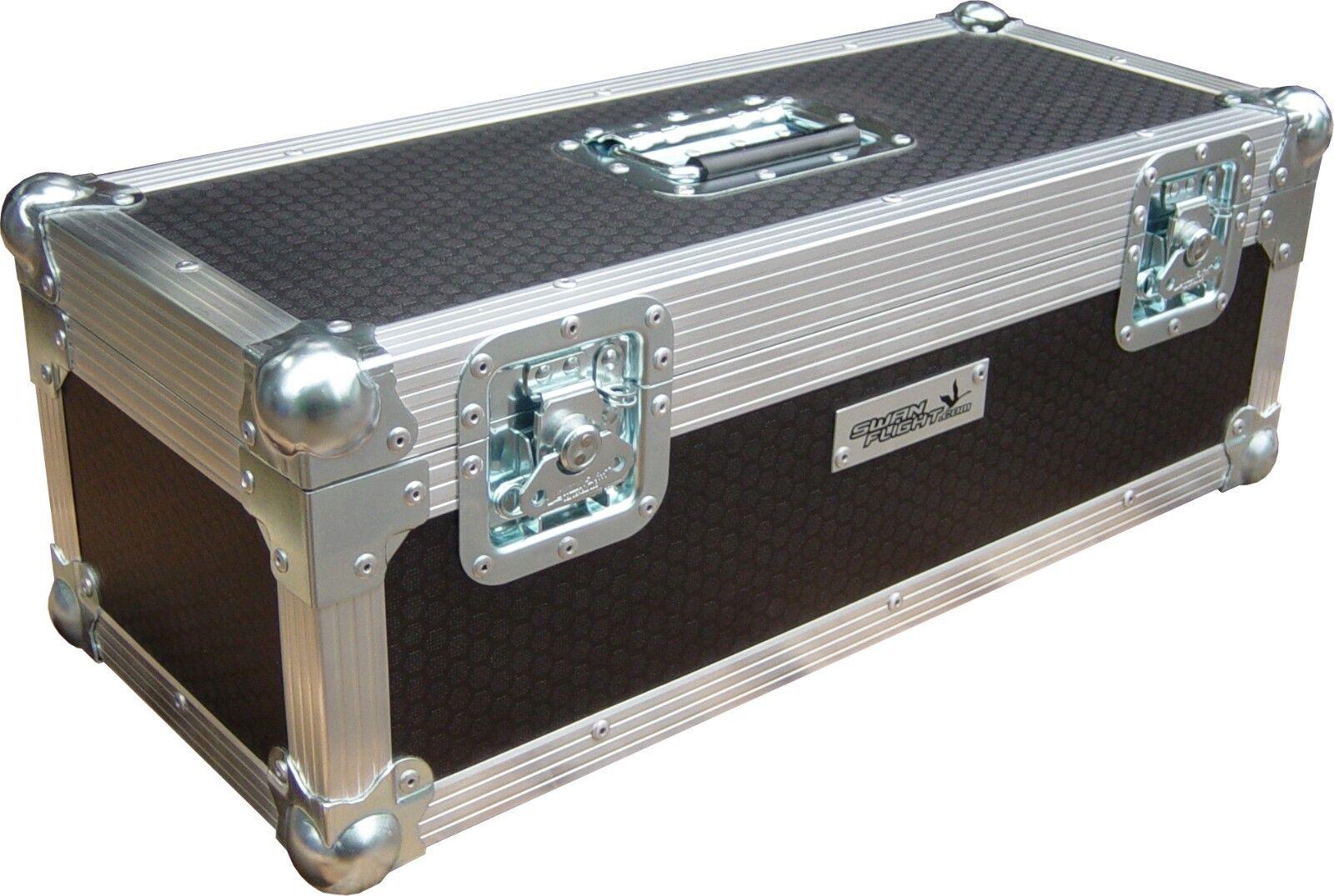 7  Single 300 Swan Flight Case Vinyl Record Box