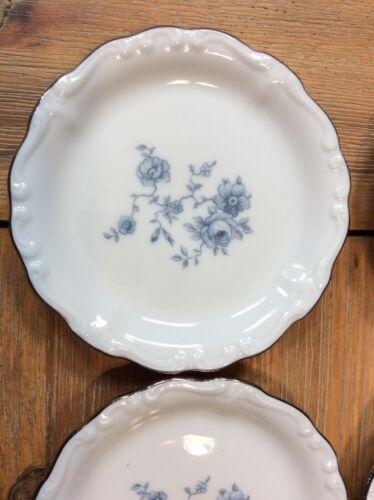 """Blue Garland Bavarian Backstamp JOHANN HAVILAND 3 3//4/"""" Scallop Butter Plate Pat"""