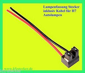 h7 fassung stecker sockel xenon licht plug bulb. Black Bedroom Furniture Sets. Home Design Ideas