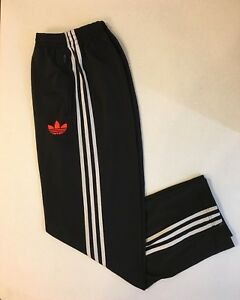 Details about Adidas Originals ADI Firebird Track Pants Black Infra Red Size M O57594