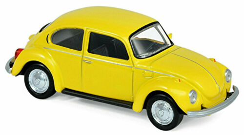 841001 Norev Jet Car VW Käfer 1303 Beetle Baujahr 1973 gelb yellow 1:43 Art