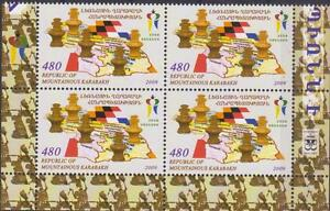 Nagorno Karabakh Armenia 2009 Chess Olympiad Germany Bl Of 4 Mnh R17084b A Plastic Case Is Compartmentalized For Safe Storage Armenia