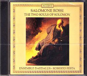 Salomone-ROSSI-1570-1630-Two-Souls-of-Solomon-ROBERTO-FESTA-CD-Ensemble-Daedalus
