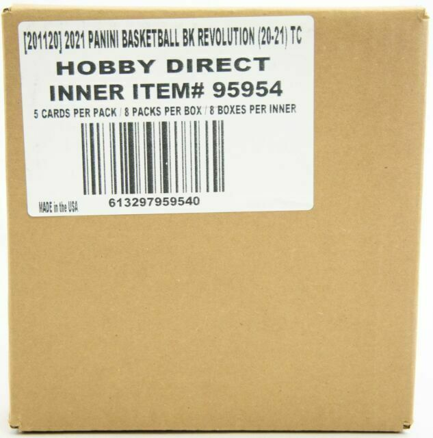 2020-21 Panini Revolution Basketball Hobby Box Case - 8 Box Case! Sealed NEW