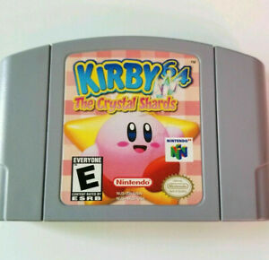 Vintage-1996-KIRBY-64-The-Crystal-Shards-Japan-Nintendo-N64-Video-Game-Only-VG
