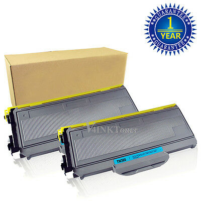 2PK High Yield TN360 330 Toner Cartridge For Brother HL-2140 MFC-7340 MFC-7840W
