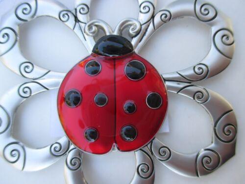 QQT Friends bring sunshine each day LOVING LITTLE LADYBUGS ORNAMENT ganz ladybug