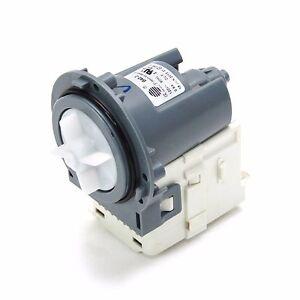 Dc31 00054d samsung washer drain pump b40 3 120v 60hz for Samsung front load washer motor