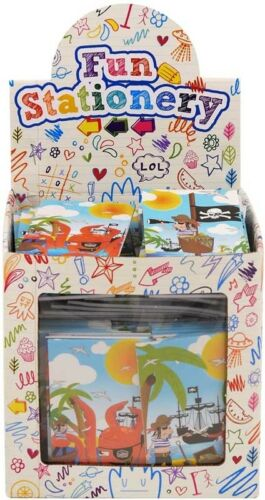 Pirates mini notepads great birthday party loot favour bag fillers for boys