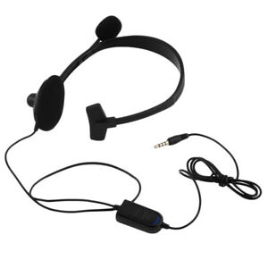 New-Single-ear-Wired-Gaming-Headset-Headphones-with-Mic-for-PS4-PlayStation-AM1