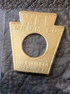Ludwig Keystone Drum Badge WFL - Repro | eBay