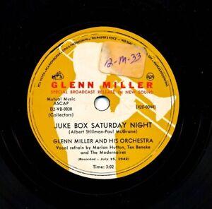GLENN-MILLER-on-1950s-RCA-Victor-420-0044-Juke-Box-Saturday-Night