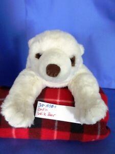 Dakin White Bear plush(310-1358-1)