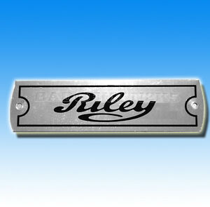 Riley-Rocker-Cover-Chassis-Vehicle-Plate-BMC-ELF
